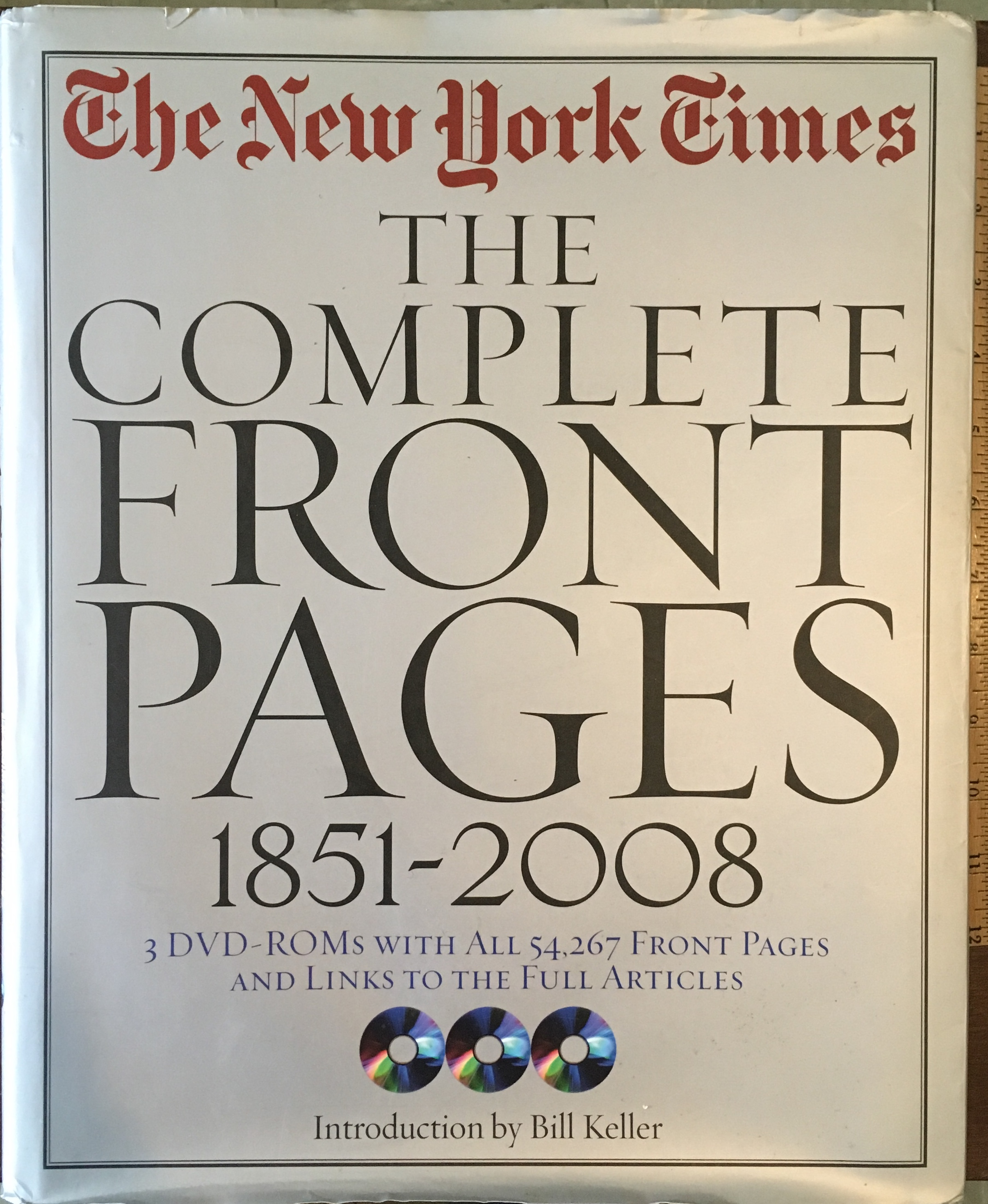 The New York Times: The Complete Front Pages