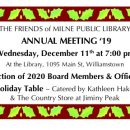 Annual Meeting December 11