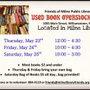 Used Book Overstock Sale May 23-25